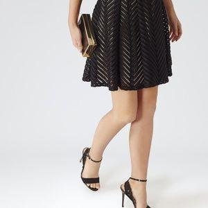 Reiss laser cut Lyla  skirt